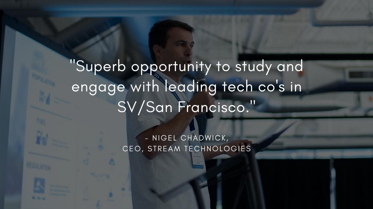 Nigel Chadwick, CEO, Stream Technologies