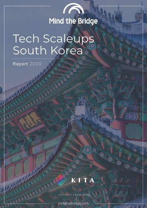 Cover-Tech Scaleups South Korea - Report 2020