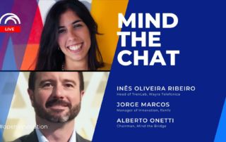 Mind the Chat with Jorge Marcos (Renfe) and Inês Oliveira Ribeiro (TrenLab)-Blog