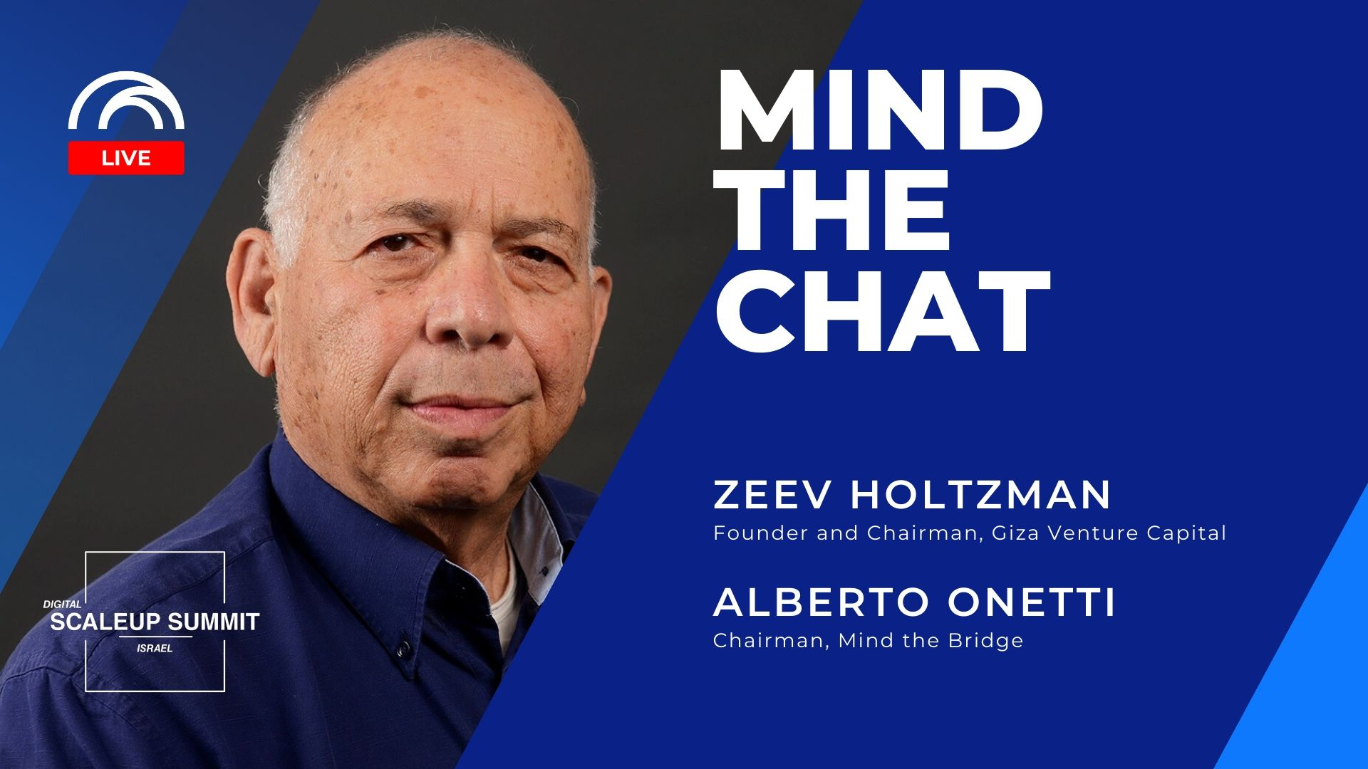 Mind the Chat with Zeev Holtzman-Giza Venture Capital