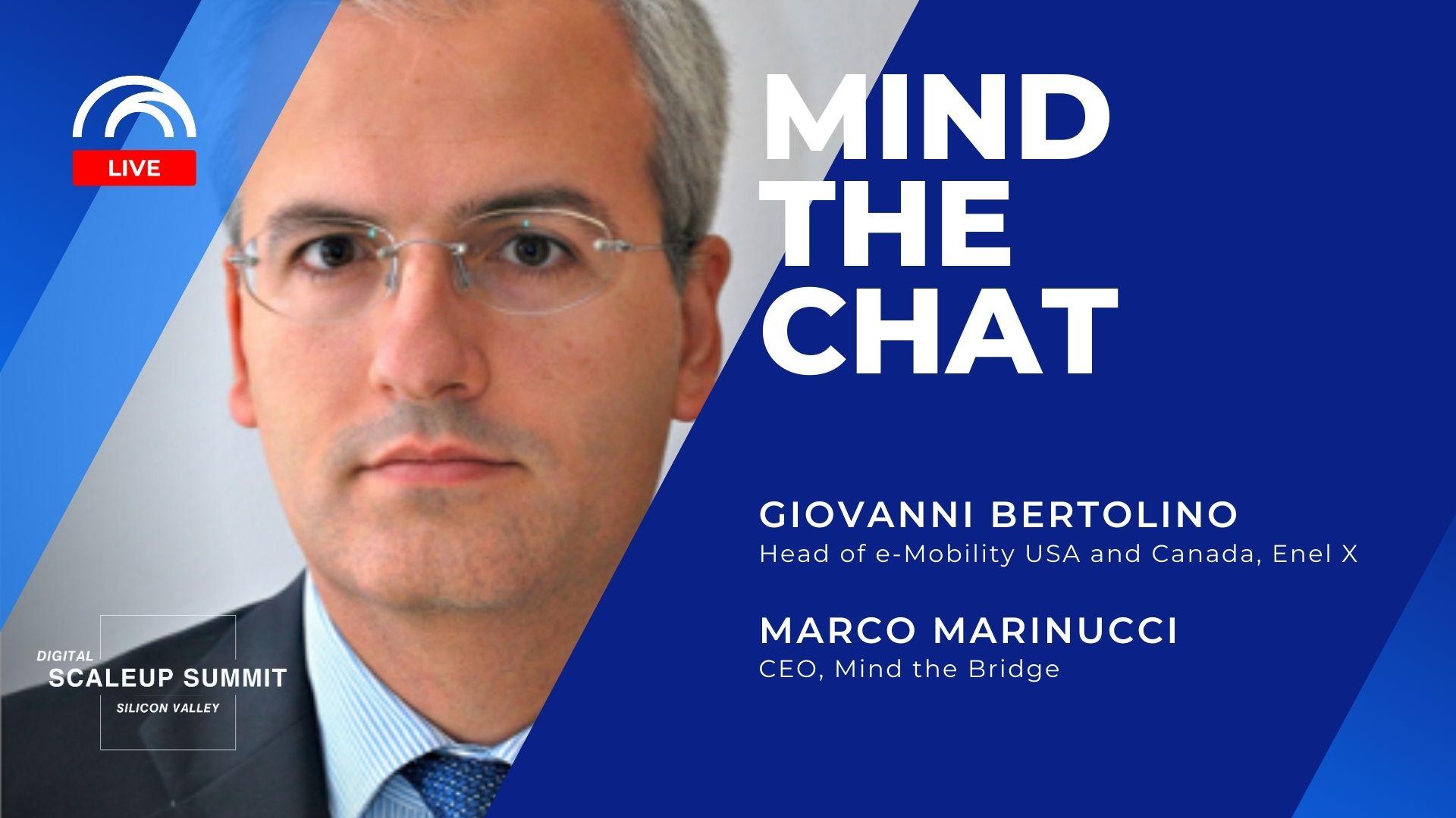 Mind the Chat with Giovanni Bertolino - EnelX