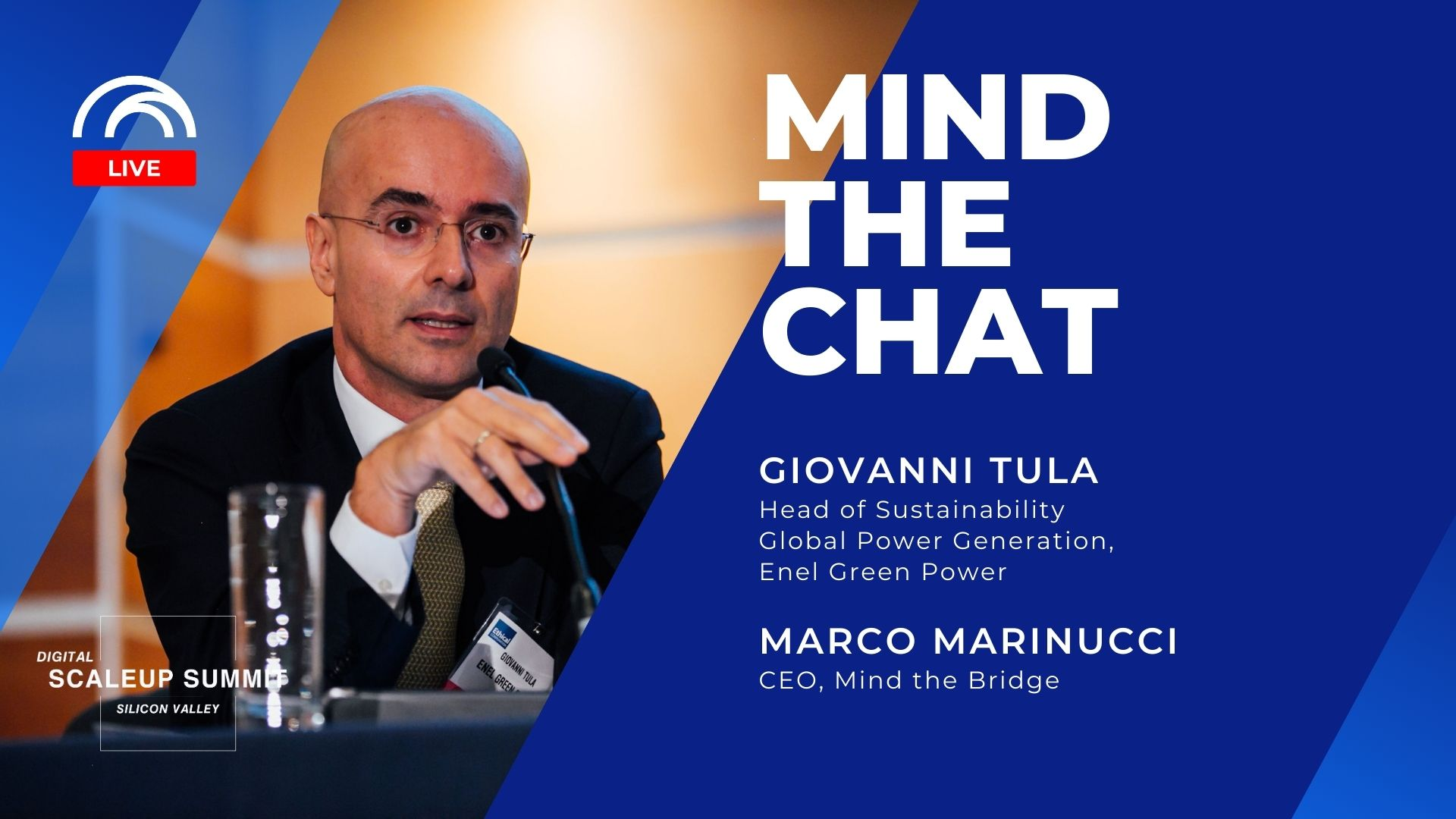 Mind the Chat with Giovanni Tula - Enel Green Power