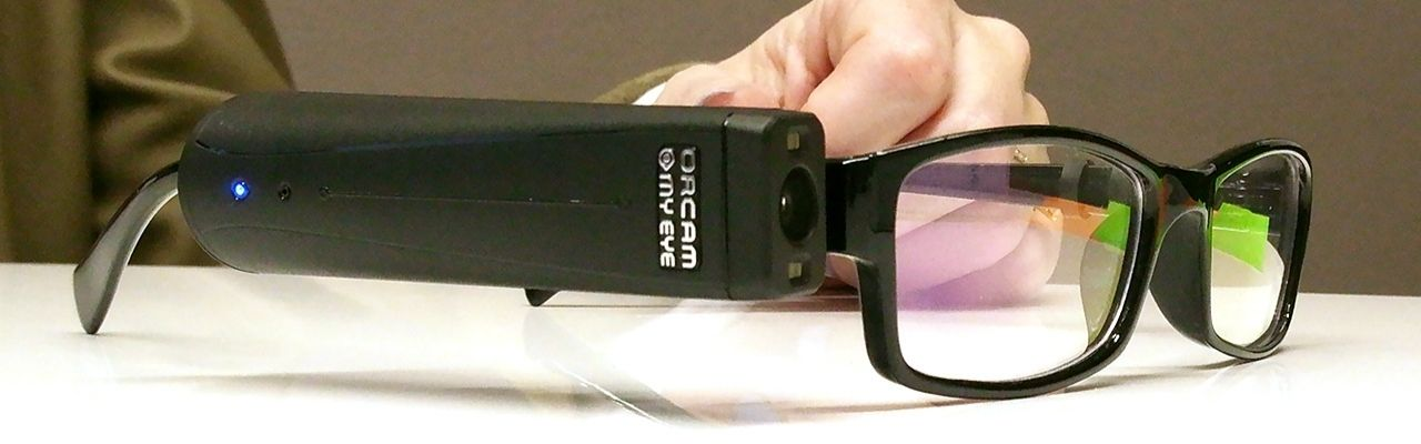 Assistive Technology Tools in the Workplace-OrCam
